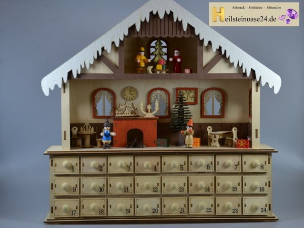 adventskalender mit 24 trommelsteinen jetzt online bei. Black Bedroom Furniture Sets. Home Design Ideas